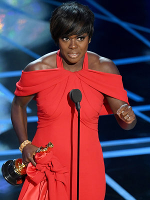 Viola Davis Makes Awards History (Again) With Emotional Win for Oscars Best Supporting…