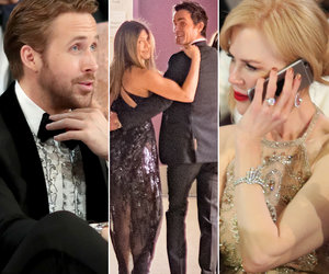 Oscars 2017: Gosling's Hot Sister, Jen & Justin's PDA and More Moments You Didn't See on TV (Photos)