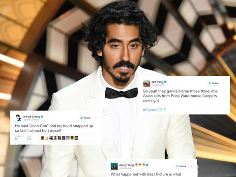 Asian Twitter Drops Some Truth Bombs on Oscars for Lack of Representation
