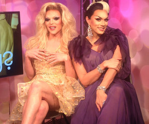 Fab or Drag? 'RuPaul's Drag Race' Stars Judge ALL the Oscar Fashion! (Exclusive Video)
