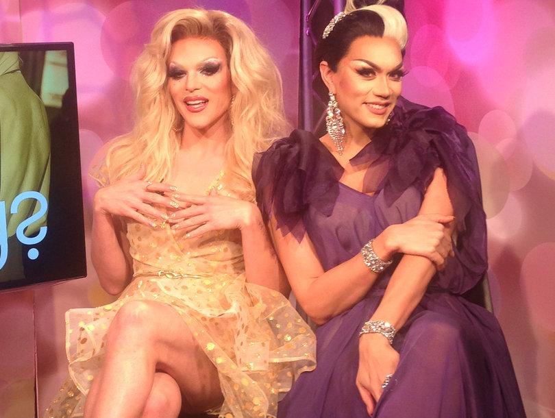 Fab or Drag? 'RuPaul's Drag Race' Stars Judge ALL the Oscar Fashion! (Exclusive…