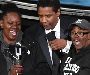 Tour Bus Crashes the Oscars