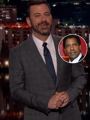 Why Jimmy Kimmel Thanked God for Denzel Washington During Oscars Best Picture Fiasco…