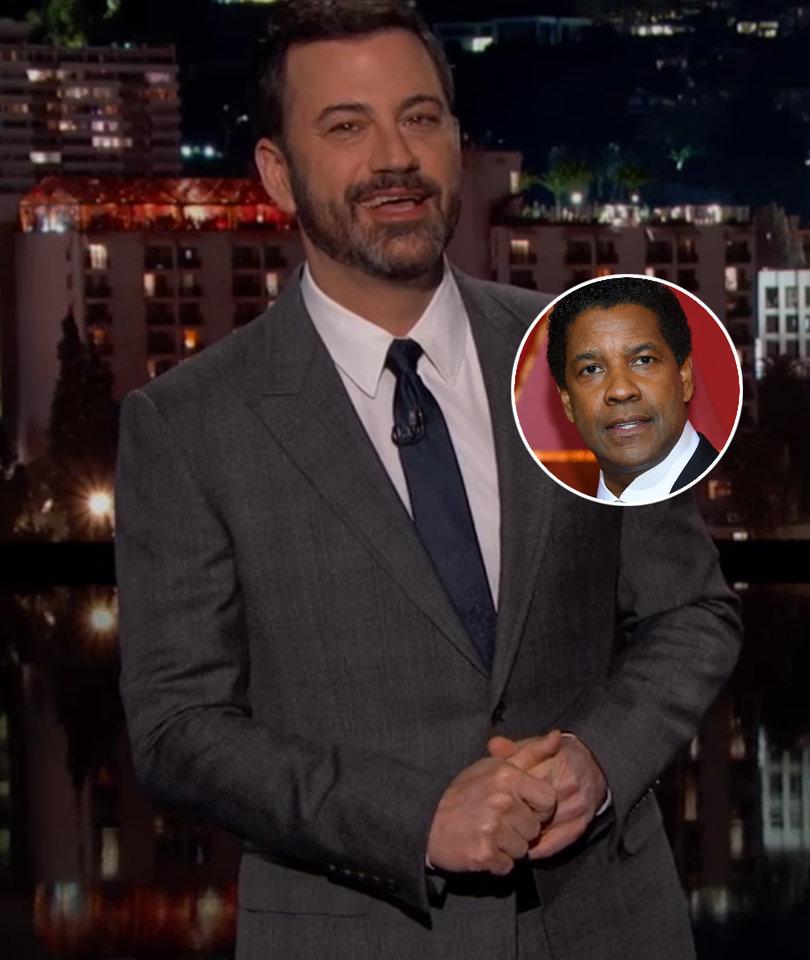 Why Jimmy Kimmel Thanked God for Denzel Washington During Oscars Best Picture…