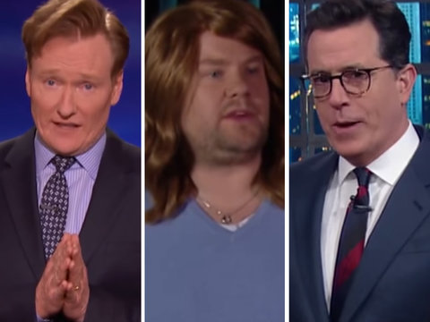 Late Night Skewers Oscars Disaster: James Corden, Stephen Colbert, Conan O'Brien (Videos)
