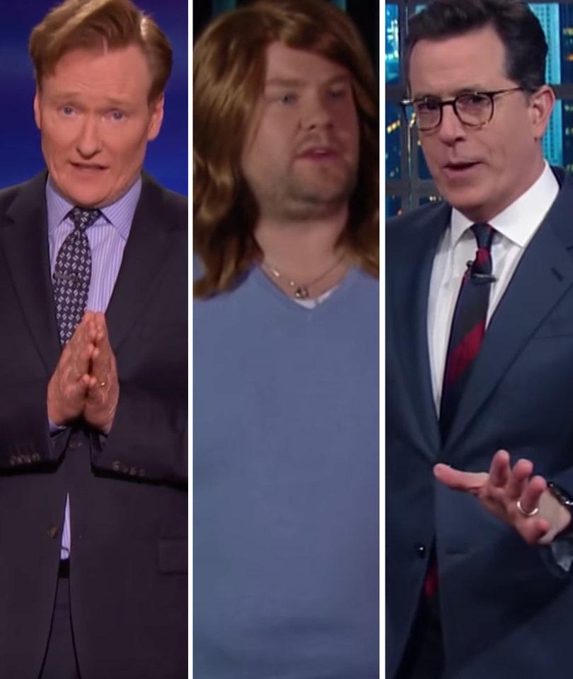Late Night Skewers Oscars Disaster: James Corden, Stephen Colbert, Conan…