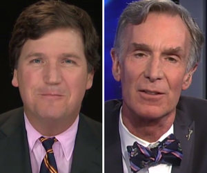 Tucker Carlson Tries Really Hard to Pretend He Knows More About Science Than…