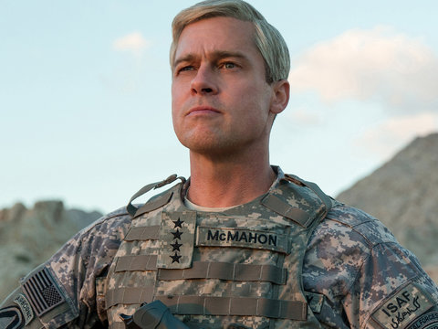 Brad Pitt Is Ready for Battle in Netflix's 'War Machine' Teasers (Video)