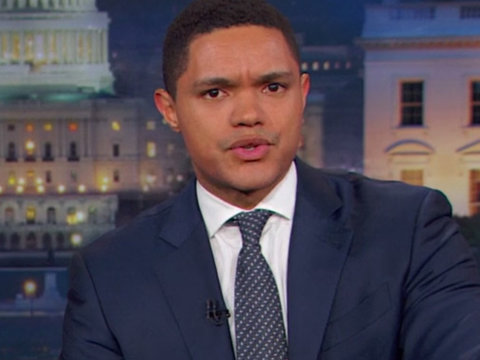 Trevor Noah on Kellyanne's Comfy Couch Moment: 'Alternative Manners'