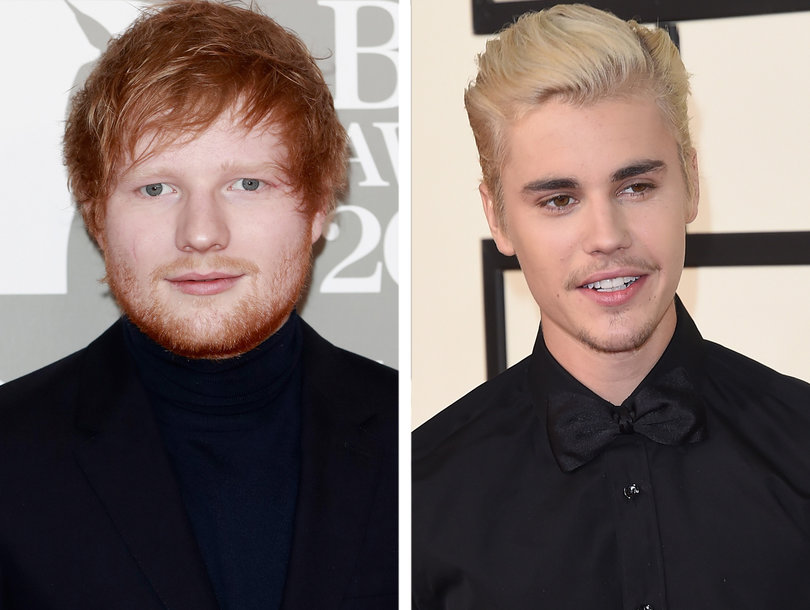 Ed Sheeran 'Got Hammered and Cracked Justin Bieber in the Face With a Golf Club'
