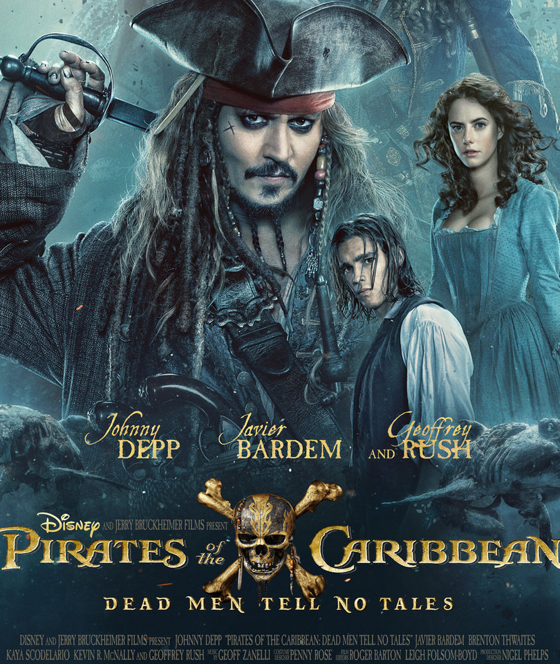 New 'Pirates of the Caribbean: Dead Men Tell No Tales' Trailer Teases Teenage…