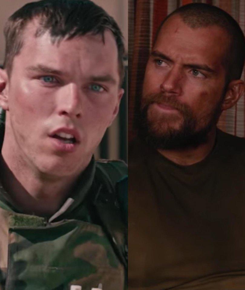 Nicholas Hoult, Henry Cavill Endure Horrors of Iraq War in Netflix's 'Sand…