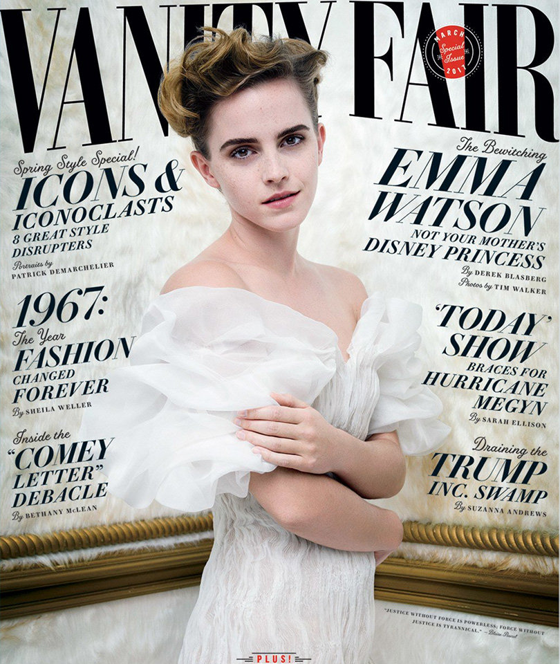 Critics Blast Emma Watson's Feminist 'Hypocrisy' Over Underboob in Vanity Fair (Photo)