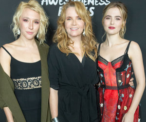 Lea Thompson Hits the Red Carpet with Daughters Zoey and Madelyn Deutch (Photos)