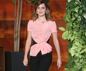 Emma Watson Pulls Epic Nanny Prank With Help of Ellen DeGeneres (Video)