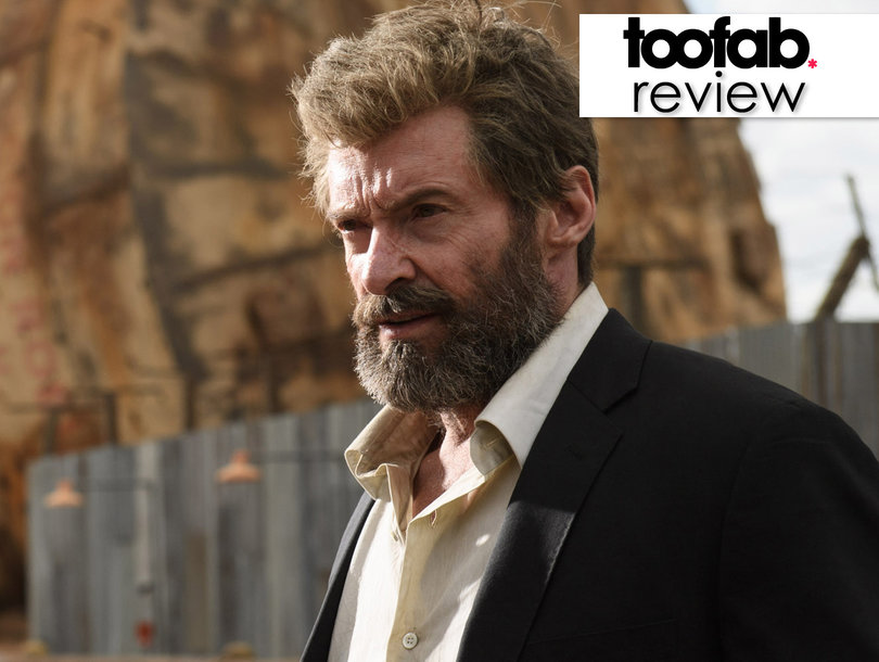 Ripped Hugh Jackman Shows a Soft Side During His Last Ride as Wolverine in 'Logan': TooFab Review