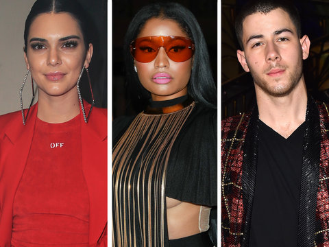 Kendall, Nicki, Nick and More Hit Paris Fashion Week Fall/Winter 2017 (Photos)