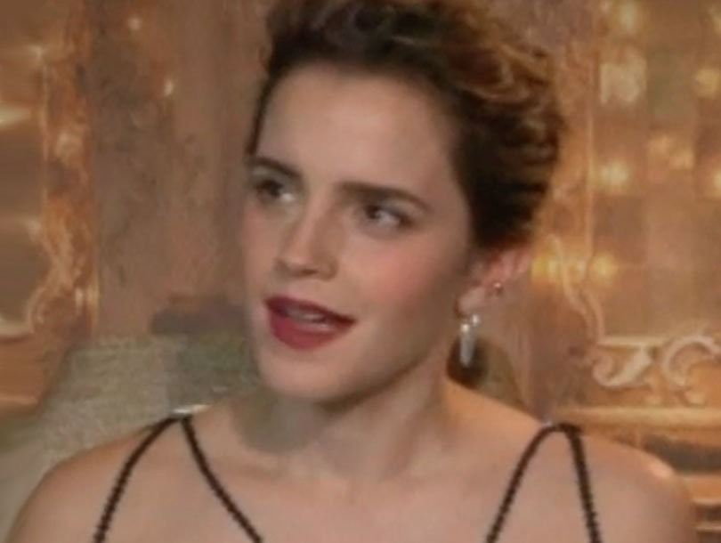 Emma Watson Doesn't Know What Her 'Tits Have to Do' With Feminism (Video)