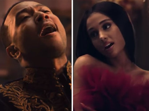 Ariana Grande and John Legend's 'Beauty and the Beast' Music Video Is Nothing Short of…