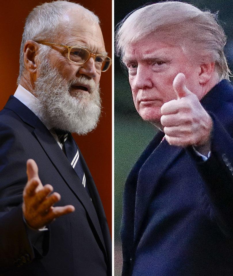 David Letterman's 7 Biggest Trump Takedowns