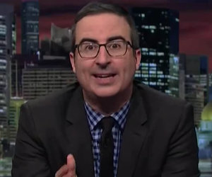 John Oliver Analyzes Trump's 'Stupid Watergate' (Video)