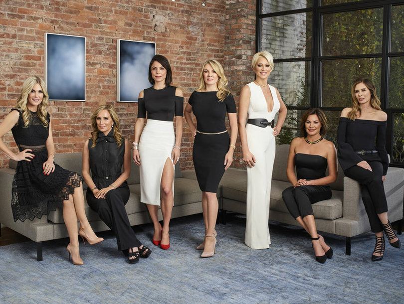 Naked Bethenny, Dorinda Freakout and Jill Zarin! 'Real Housewives of New York' Season 9 Trailer Is Everything (Video)