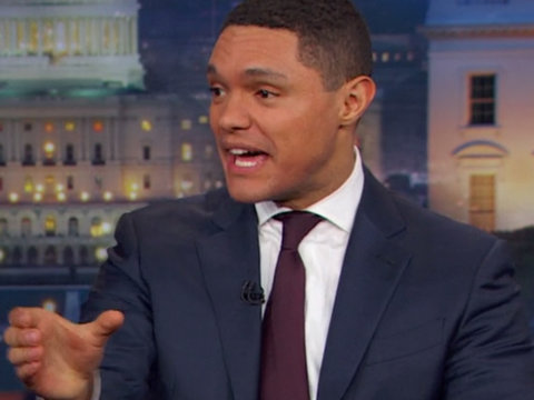 Trevor Noah Mocks the 'Tangerine Roller Coaster Ride'