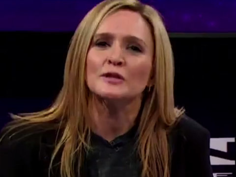 Here's What Happens When Samantha Bee's Female 'Full Frontal' Staff Doesn't Show Up to…