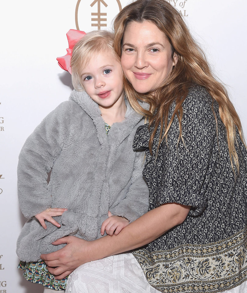 Drew Barrymore's Daughter Frankie Looks Just Like She Did as a Kid (Photo)