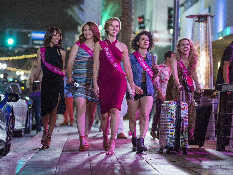 Scarlett Johansson's Pals Kill a Stripper in 'Rough Night's' Bachelorette Party…