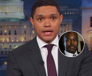 Trevor Noah Busts Ben Carson's Claim Slaves Were 'Immigrants' Simply by Opening…