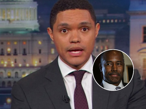 Trevor Noah Busts Ben Carson's Claim Slaves Were 'Immigrants' Simply by Opening a…