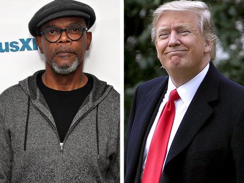 Samuel L. Jackson: Trump Wants Black People 'Bent Over in the Cotton Fields' (Video)