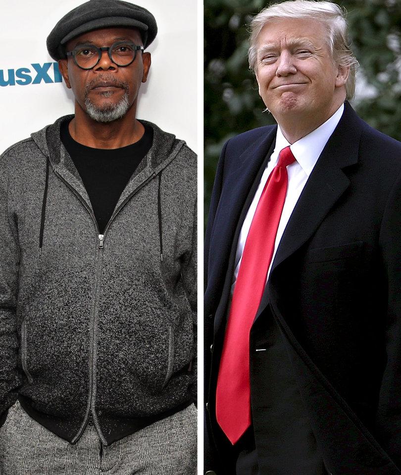 Samuel L. Jackson: Trump Wants Black People 'Bent Over in the Cotton Fields'…