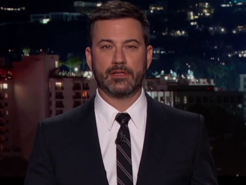 'F--k Jimmy Kimmel': Watch Late-Night Host's Fans Throw Snowballs at Loved Ones…