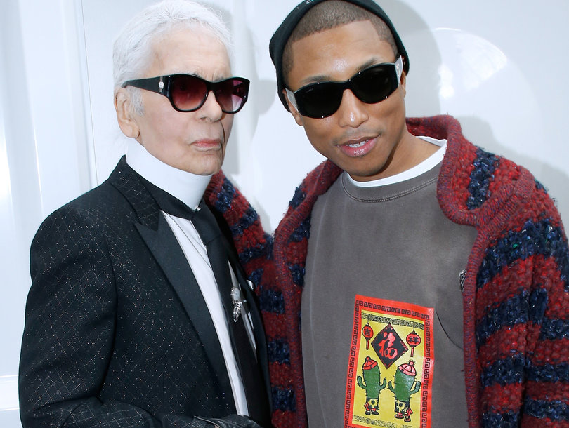 Pharrell Williams Makes Fashion History