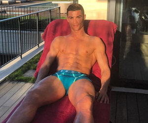 Cristiano Ronaldo Is In His Underwear Again and All Is Right In the World…