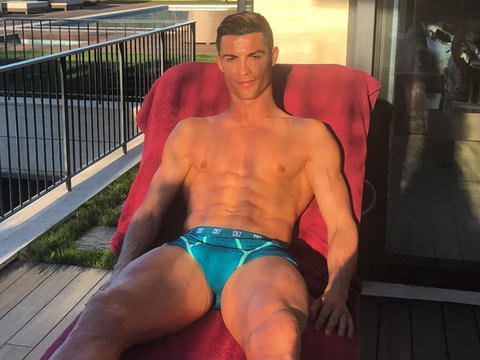 Cristiano Ronaldo Is In His Underwear Again and All Is Right In the World (Photo)