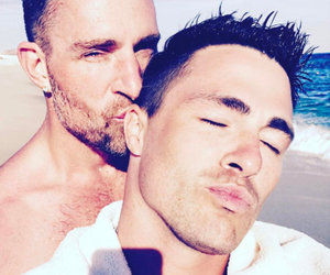 Colton Haynes Is Engaged to Boyfriend Jeff Leatham (Photos)