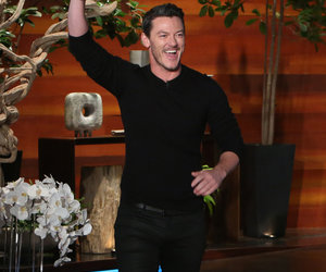 Luke Evans Serenades Adele in the Shower During 'Ellen Show' (Video)