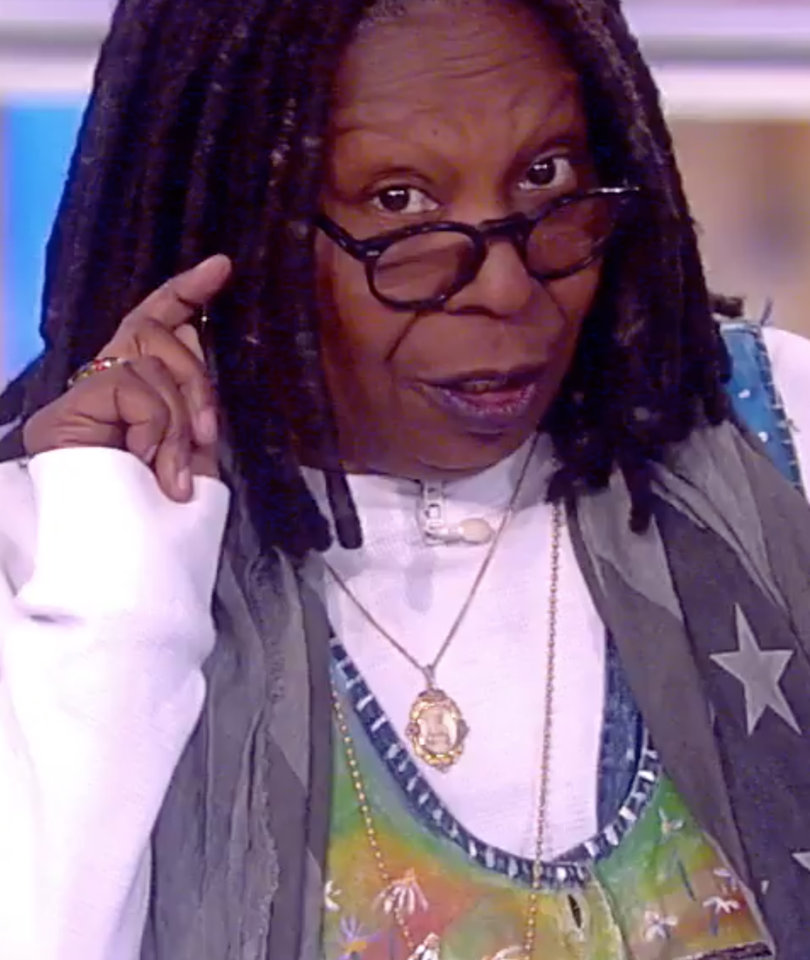 Whoopi Goldberg Shreds Man Who Created 'Fake News' Story That 'Endangered' Her…