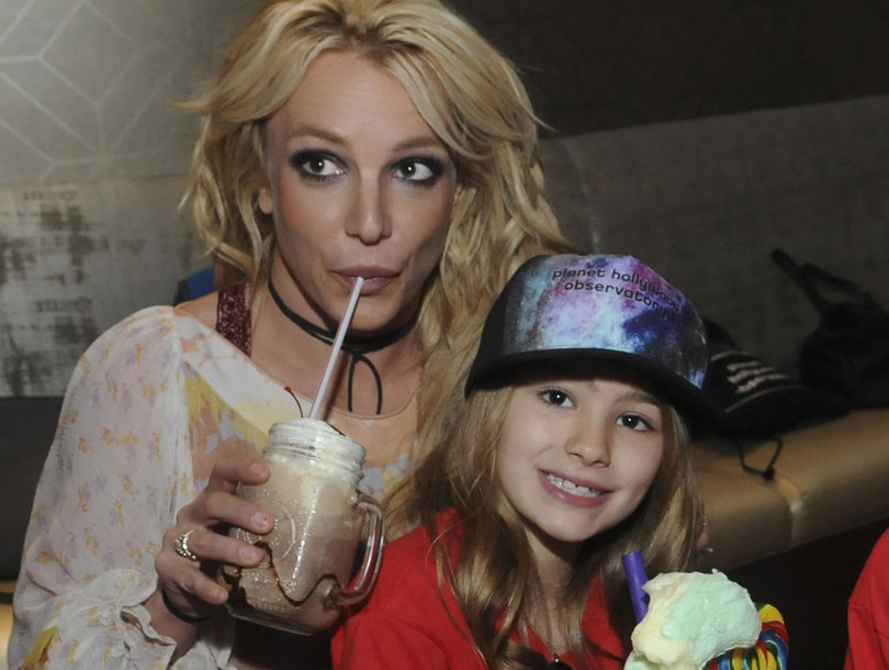 View Photos Getty Britney Spears Enjoys Family Outing In Florida With Madand Sons