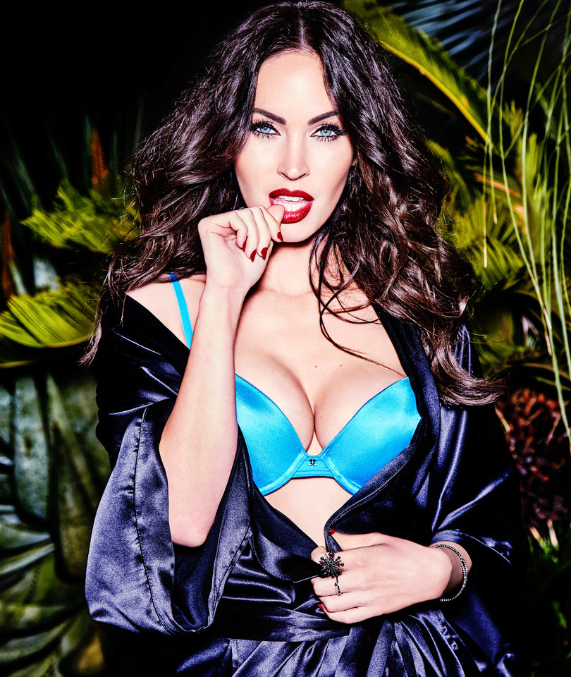 Megan Fox Wants to 'Make Women Feel Really Sexy' With New Fredericks' of Hollywood Campaign (Photos)