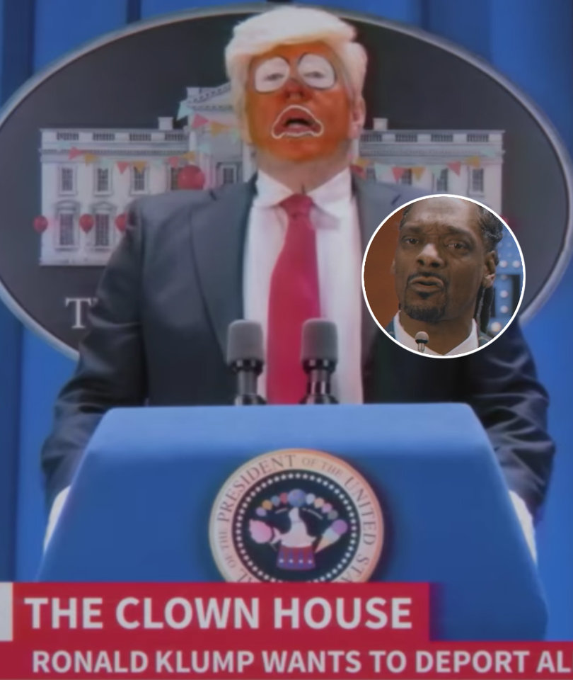 Trump Critics Clown President's Outrage Over Snoop Dogg Music Video