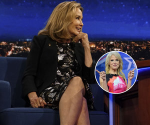 See Why Jessica Lange Is Feuding with Kellyanne Conway (Video)