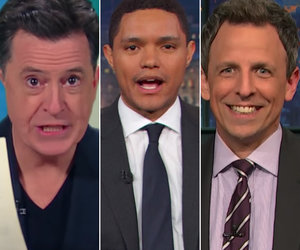 'Rachel Maddow, What the F--k?': Late-Night Hosts Pile on 'Overhyped' Trump Tax…