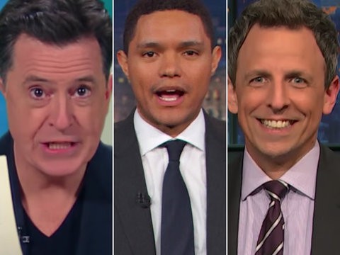 'Rachel Maddow, What the F--k?': Late-Night Hosts Pile on 'Overhyped' Trump Tax Report…