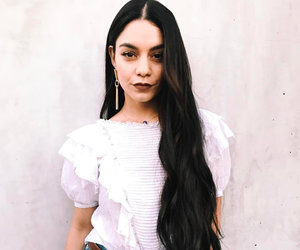 Vanessa Hudgens Debuts Long Locks for New Film -- Like the Look?