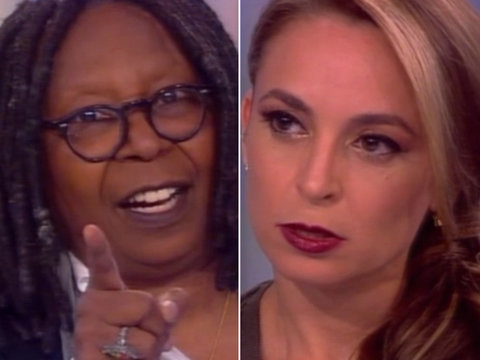 Whoopi Slams Trump's Travel Ban Revision: 'Like Saying All Black People Love Chicken'…
