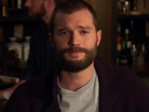 Jamie Dornan Teaches Jimmy Kimmel How to Be 41 Shades of Drunk on St. Patrick's Day…
